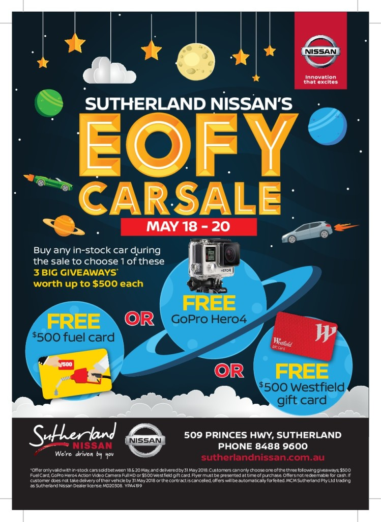 High Res Flyer - EOFY Sutherland Nissan-001